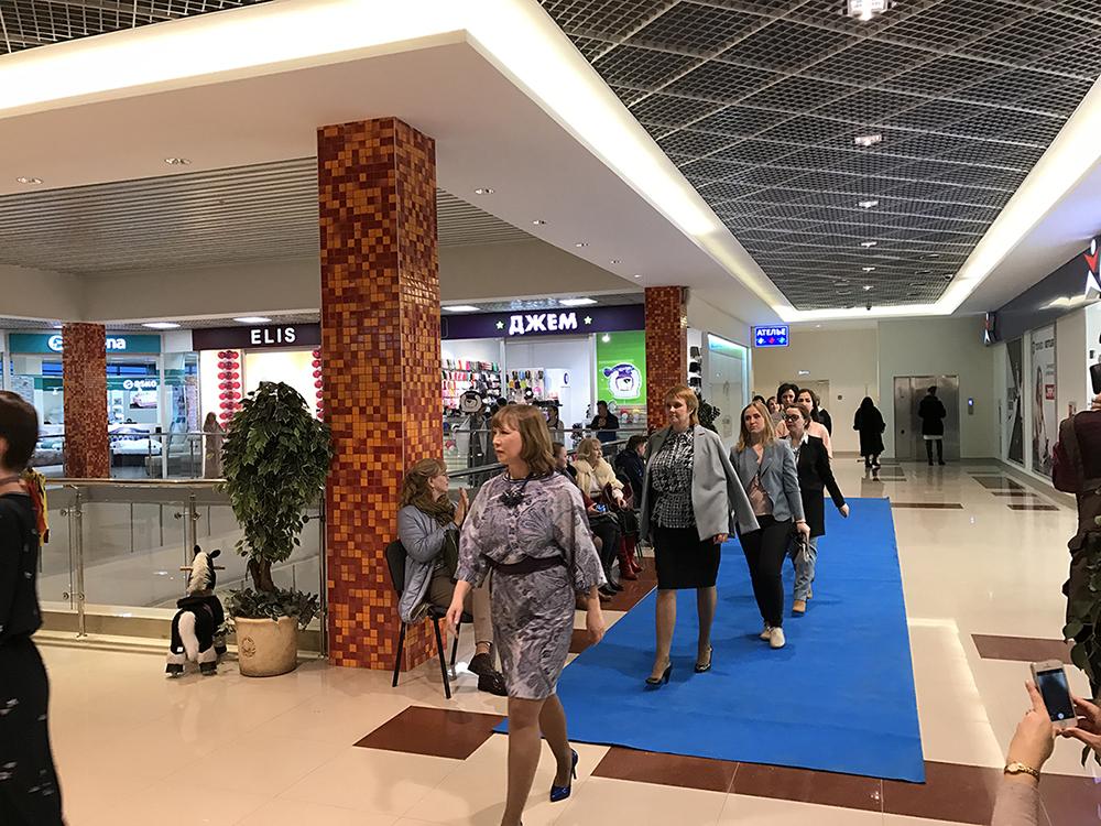 9998f76dc2ac 12 марта. В ТЦ Дарья состоялся модный показ магазина женской одежды Элис